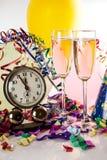 Αντίστροφη μέτρηση στο νέο έτος Στοκ φωτογραφία με δικαίωμα ελεύθερης χρήσης