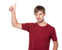αντίχειρας ατόμων επάνω Στοκ εικόνα με δικαίωμα ελεύθερης χρήσης