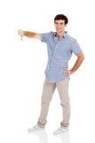 Αντίχειρας ατόμων κάτω Στοκ Φωτογραφία