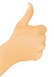 αντίχειρας χεριών χειρον&om ελεύθερη απεικόνιση δικαιώματος