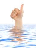 Αντίχειρας χεριών στοκ φωτογραφία με δικαίωμα ελεύθερης χρήσης