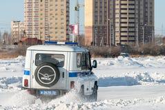 Ανταγωνισμοί αυτοκινήτων για τους αστυνομικούς Στοκ Φωτογραφία