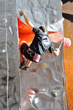 Ανταγωνισμοί στην αναρρίχηση βράχου Στοκ Φωτογραφίες