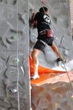 Ανταγωνισμοί στην αναρρίχηση βράχου Στοκ φωτογραφίες με δικαίωμα ελεύθερης χρήσης