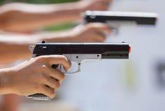 Ανταγωνισμοί στο πυροβολισμό Στοκ Εικόνες