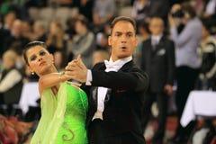 ανταγωνισμός αιθουσών χορού διεθνής Στοκ εικόνα με δικαίωμα ελεύθερης χρήσης