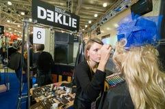 Ανταγωνισμός καλλιτεχνών Makeup και τρίχας Στοκ εικόνες με δικαίωμα ελεύθερης χρήσης