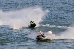 Ανταγωνισμός μοτοσικλετών νερού Στοκ εικόνες με δικαίωμα ελεύθερης χρήσης