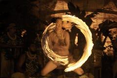 Ανταγωνισμός Fireknife Στοκ φωτογραφίες με δικαίωμα ελεύθερης χρήσης