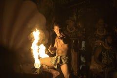 Ανταγωνισμός Fireknife Στοκ Εικόνες