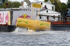 ανταγωνισμός flugtag Ρήγα Στοκ Φωτογραφίες