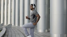 Ανταγωνιστική κατάρτιση αθλητικών τύπων για το παγκόσμιο πρωτάθλημα στο ελεύθερο χρόνο, τρέξιμο απόθεμα βίντεο