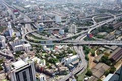 Ανταλλαγή αστικών αυτοκινητόδρομων στοκ φωτογραφία με δικαίωμα ελεύθερης χρήσης