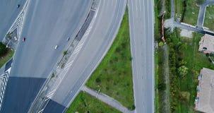 Ανταλλαγή εθνικών οδών και δρόμων στοκ φωτογραφίες με δικαίωμα ελεύθερης χρήσης