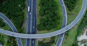 Ανταλλαγή εθνικών οδών και δρόμων στοκ εικόνα