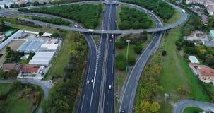 Ανταλλαγή εθνικών οδών και δρόμων στοκ εικόνα με δικαίωμα ελεύθερης χρήσης