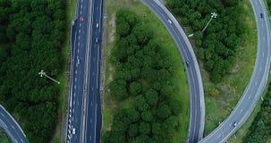 Ανταλλαγή εθνικών οδών και δρόμων στοκ φωτογραφία με δικαίωμα ελεύθερης χρήσης