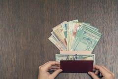 Ανταλλαγή νομίσματος στη Νοτιοανατολική Ασία στοκ φωτογραφίες με δικαίωμα ελεύθερης χρήσης