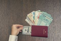 Ανταλλαγή νομίσματος στη Νοτιοανατολική Ασία στοκ εικόνες