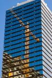 αντανάκλαση γερανών Στοκ εικόνες με δικαίωμα ελεύθερης χρήσης