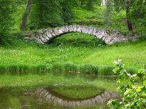 αντανάκλαση γεφυρών Στοκ φωτογραφία με δικαίωμα ελεύθερης χρήσης