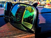 Αντανάκλαση γυαλιών ηλίου Στοκ Φωτογραφία