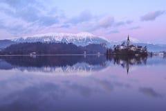 Αντανάκλαση ηλιοβασιλέματος Στοκ Εικόνες