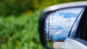 Αντανάκλαση καθρεφτών αυτοκινήτων ` s Στοκ Φωτογραφία