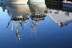 αντανάκλαση κονσερβοπ&omicro Στοκ Φωτογραφίες