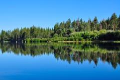 αντανάκλαση λιμνών Στοκ εικόνες με δικαίωμα ελεύθερης χρήσης