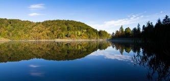 Αντανάκλαση λιμνών Plitvice Στοκ φωτογραφία με δικαίωμα ελεύθερης χρήσης
