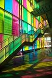 Αντανάκλαση παραθύρων στο κέντρο congres στο Μόντρεαλ Στοκ εικόνα με δικαίωμα ελεύθερης χρήσης