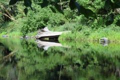 Αντανάκλαση ποταμών σύνδεσης στοκ εικόνα με δικαίωμα ελεύθερης χρήσης