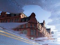Αντανάκλαση ακρών του δρόμου Στοκ φωτογραφία με δικαίωμα ελεύθερης χρήσης