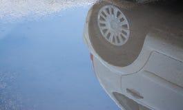 Αντανάκλαση αυτοκινήτων Στοκ Φωτογραφίες