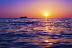 Αντανάκλαση ενός ήλιου στοκ εικόνα με δικαίωμα ελεύθερης χρήσης