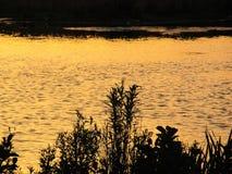 Αντανάκλαση ηλιοβασιλέματος Στοκ φωτογραφία με δικαίωμα ελεύθερης χρήσης