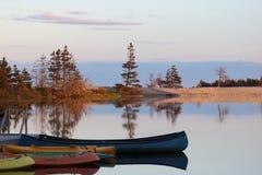 Αντανάκλαση ηλιοβασιλέματος Στοκ εικόνα με δικαίωμα ελεύθερης χρήσης