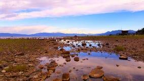 Αντανάκλαση ηλιοβασιλέματος Tahoe λιμνών Στοκ εικόνες με δικαίωμα ελεύθερης χρήσης