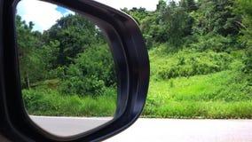 Αντανάκλαση καθρεφτών μιας εισόδου αγροικιών Στοκ εικόνα με δικαίωμα ελεύθερης χρήσης