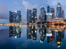 αντανάκλαση Σινγκαπούρη π Στοκ εικόνες με δικαίωμα ελεύθερης χρήσης