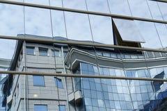 Αντανάκλαση στα παράθυρα Στοκ Εικόνα