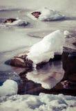 Αντανάκλαση στη λίμνη Στοκ εικόνες με δικαίωμα ελεύθερης χρήσης