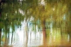 Αντανάκλαση ύδατος Στοκ Φωτογραφίες