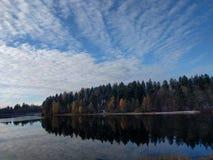Αντανάκλαση ύδατος Στοκ Εικόνες