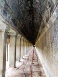 Αντανάκλαση Wat Angkor Στοκ Εικόνα
