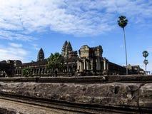 Αντανάκλαση Wat Angkor Στοκ Φωτογραφίες
