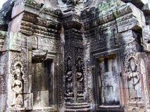 Αντανάκλαση Wat Angkor Στοκ Φωτογραφία