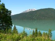 αντανακλάσεις βουνών στοκ εικόνες