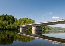 αντανακλάσεις γεφυρών Στοκ Εικόνες